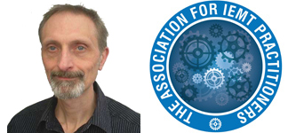 a profile head shot of Steve Green, Coach, Therapist and Counsellor from Life Start, alongside the logo for The Association of IEMT Practitioners